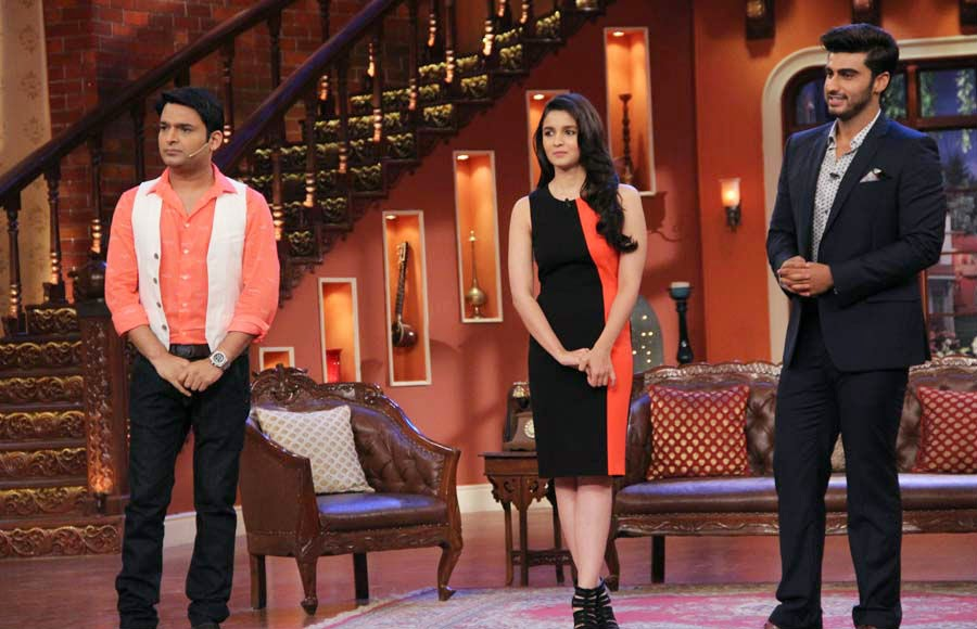 Alia, Arjun and Kapil