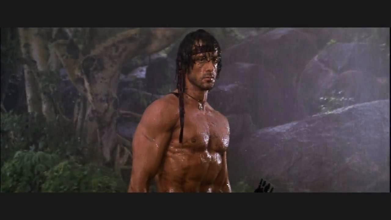 Sylvester Stallone dans Rambo 2