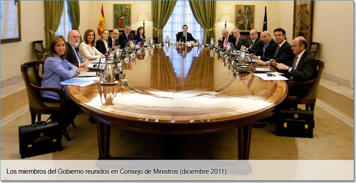 Opiniones de presidente del consejo de ministros de espa a for Ministros de espana