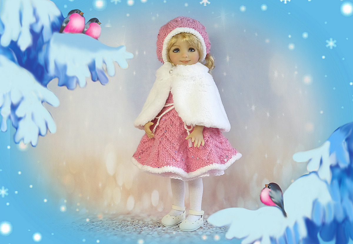 """Outfit for 13"""" Little Darling Diana Effner"""