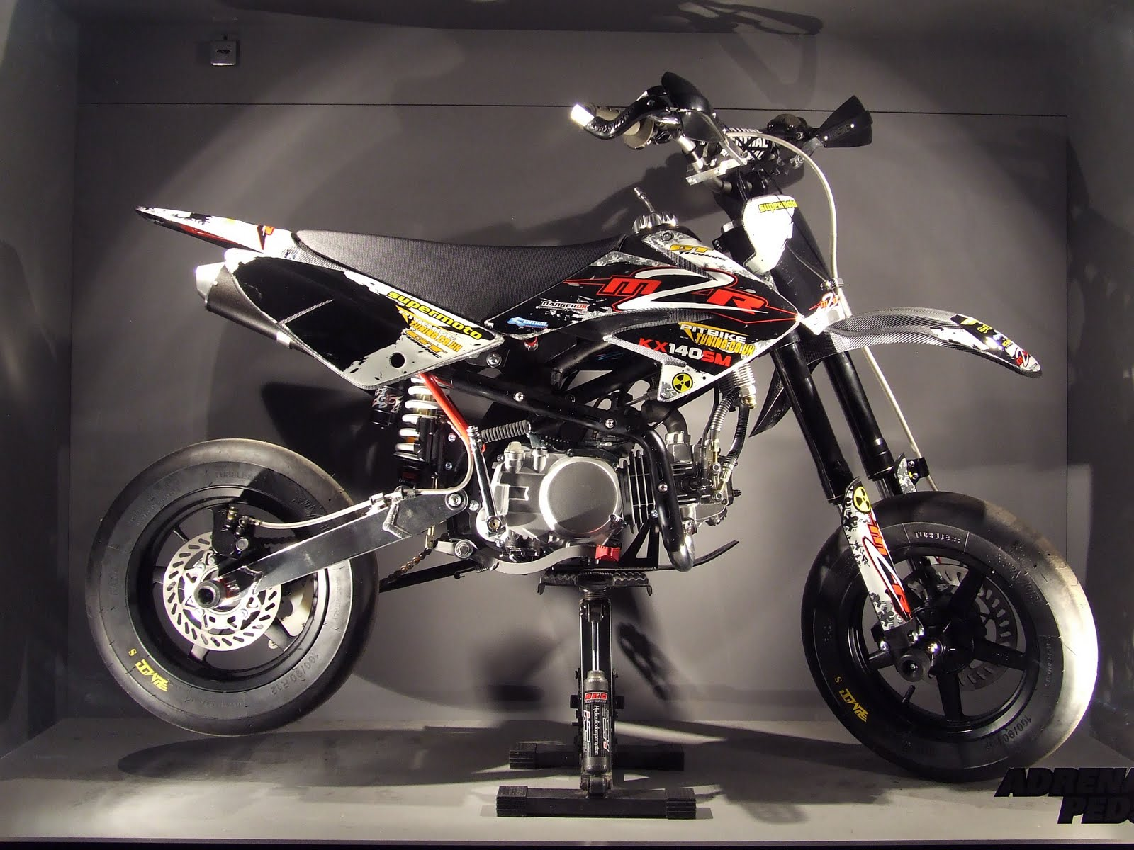 ADRENALIN SCOOTER PERFORMANCE PARTS: Pit bike: M2R Racing CRF70 ...