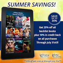 eXtasy Books On Sale!