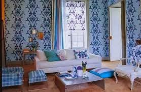 Gambar Motif Wallpaper Dinding Ruang Tamu Anda