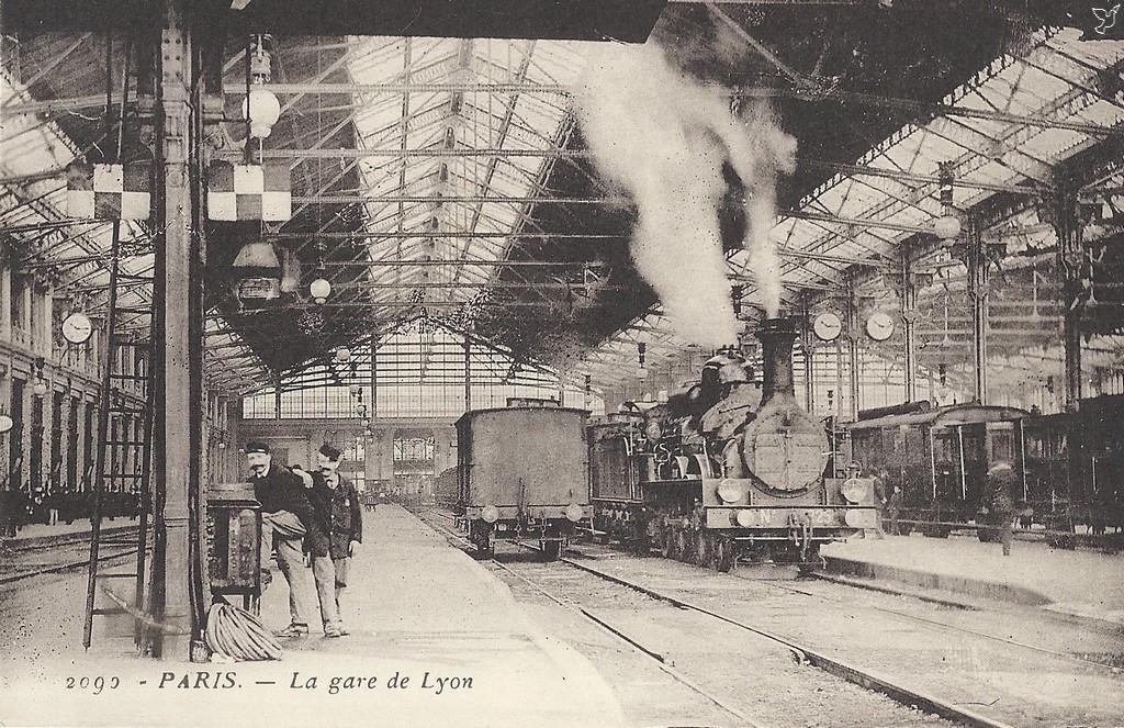 1855 La Gare De Lyon Paris Unplugged