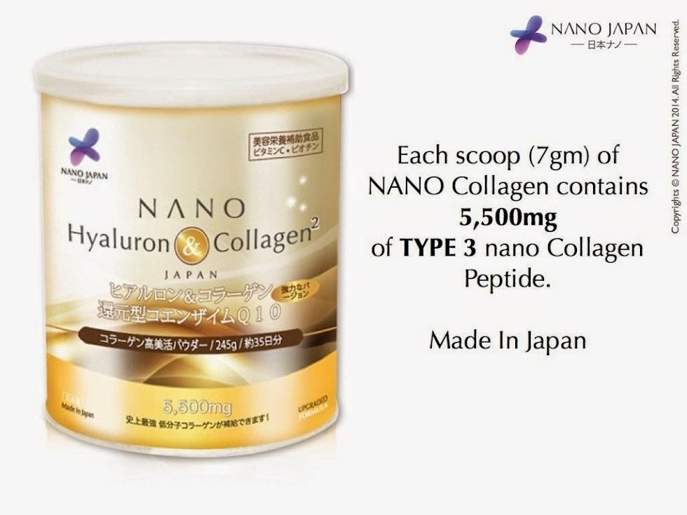 Lebih Muda 10 Tahun Dengan Nano Collagen From Japan