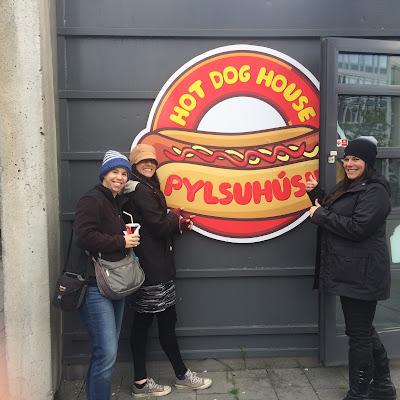 Hot dogs in Reykjavik