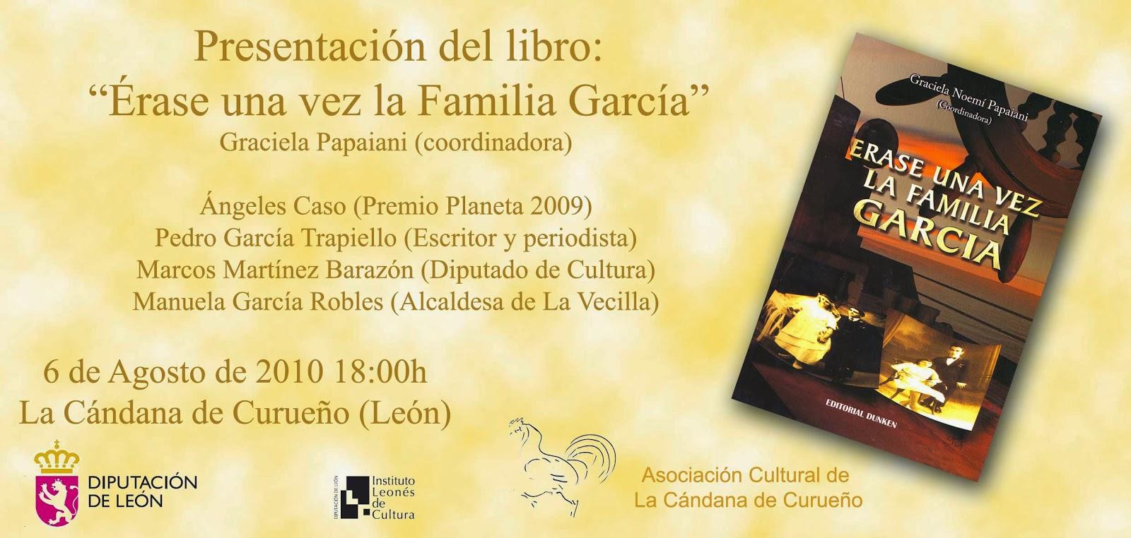 Érase una vez la Familia García: Presentación en La Cándana de ...