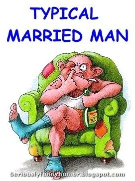 Typical Married Man Funny Photo