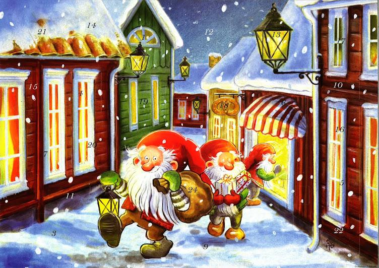 En annorlunda jul i vår by