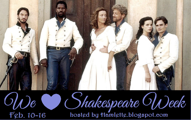 We Love Shakespeare Week!
