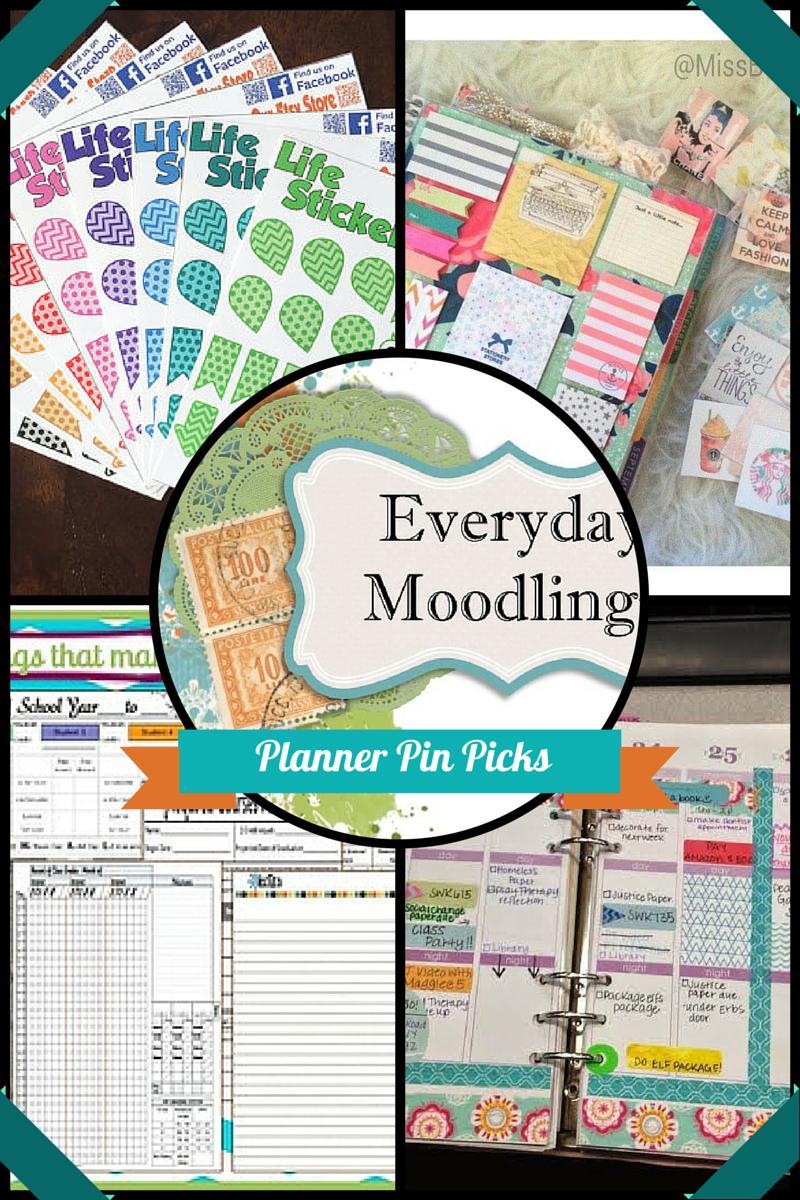 Everyday Moodlings: Planner Picks