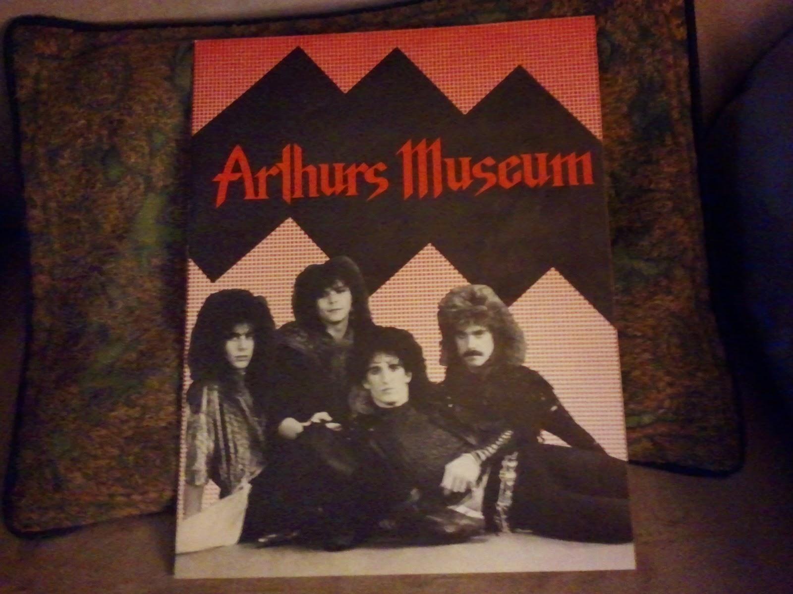Arthurs museum Bio folder