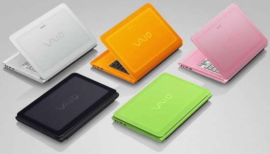 Sony VAIO C Series Laptops color options image