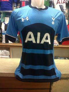 gamabr desain terbaru tottenham Jersey Tottenham away terbaru musim 2015/2016 di enkosa sport tanah abang