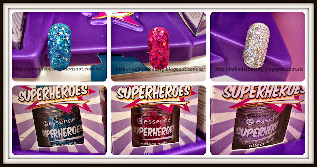 Essence Superheroes - Effect Nails