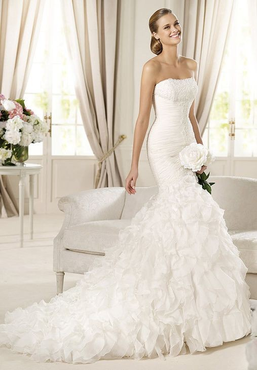 Elegant Wedding Dresses Images : Whiteazalea elegant dresses wedding with fashionable