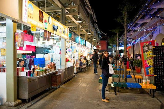 Taiwan Taipei Shilin Night Market New Wing 台北士林夜