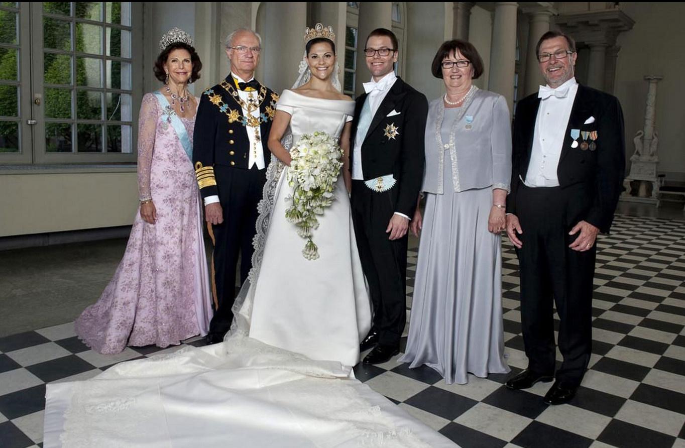 Официальные фото со свадьбы принцессы Мадлен и. - Сплетник 50
