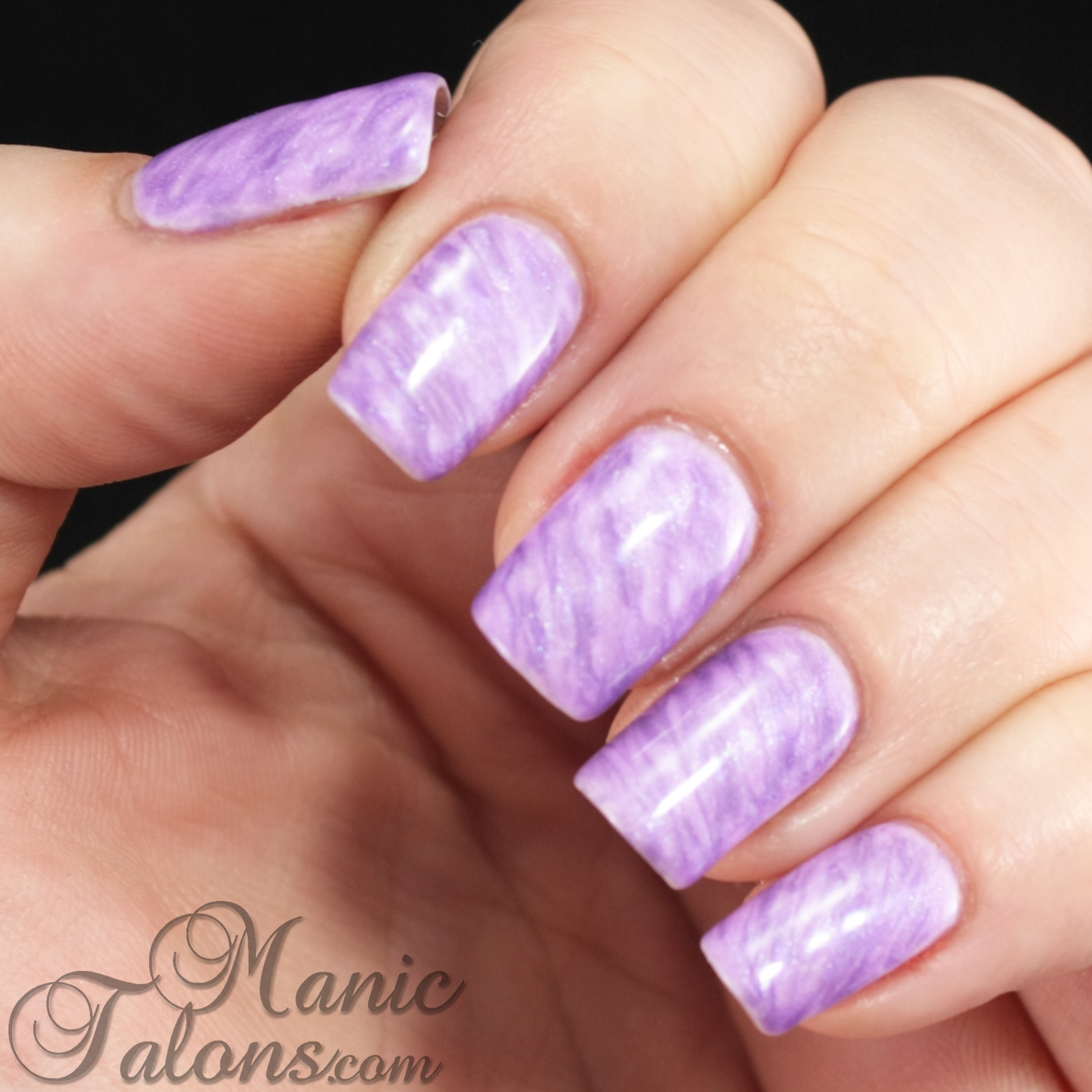 Manic Talons Nail Design: Tutorial: Simple Dry Marble Technique