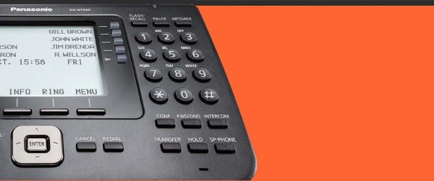 Τηλεφωνικά κέντρα Panasonic αυξήστε την κερδοφορία της επιχείρησής σας...