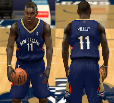 NBA 2K14 Complete Pelicans Jersey Patch