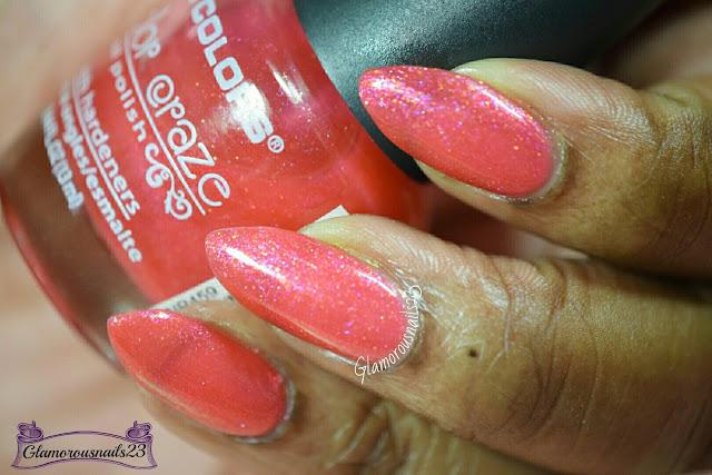 L.A.Colors Sparkling Fuchsia