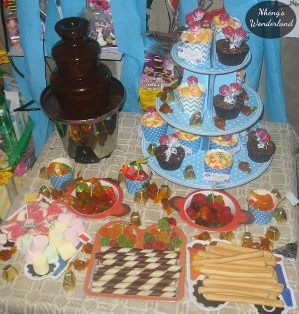 DIY Candy Buffet