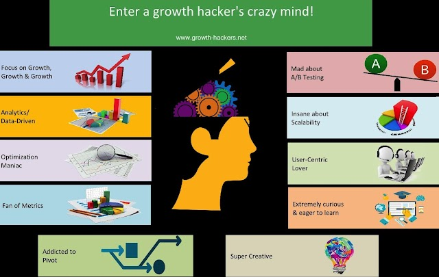 Enter a growth hackers crazy mind