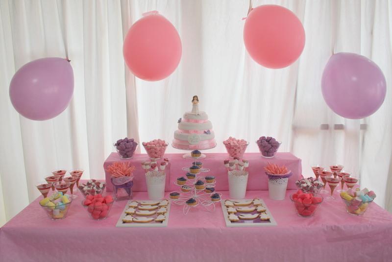 La casita de las cositas mesa dulce comuni n luc a for Mesa dulce para comunion
