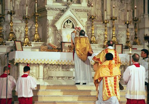 Rito Matrimonio Romano Antico : Il corriere di catania santa messa cantata in rito