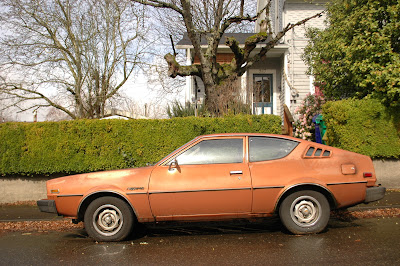 1977 Plymouth Arrow hatchback.