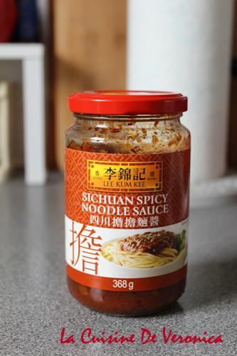 擔擔麵醬 Sichuan Spicy Noodle Sauce