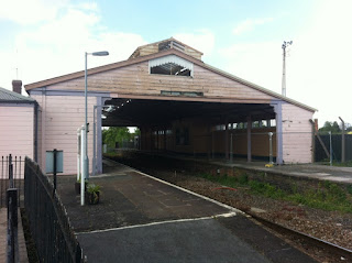 Frome railway station, Somerset