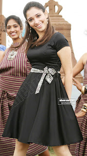 Tamanna in black dress unseen gallery