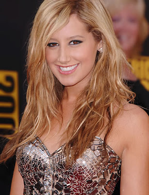 Ashley Tisdale Blonde Hairstyles
