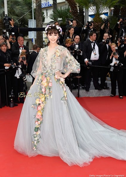 68º Festival Cannes 2015 - Fan Bingbing -  Marchesa  Couture