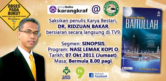 Live TV9 Nasi Lemak Kopi O
