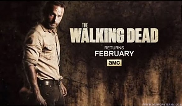 The Walking Dead - febrero segunda mitad de la cuarta temporada