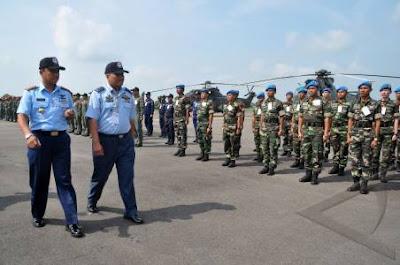 TNI-AU - TUDM Laksanakan Latma Elang Malindo 2011 Di Lanud Supadio