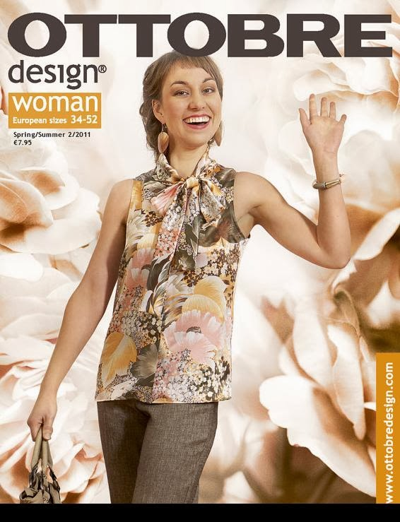 Ottobre magazine spring 2011 issue front cover