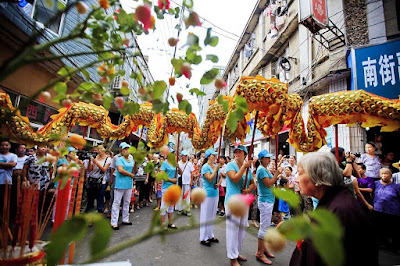 Desfile festival de los fantasmas