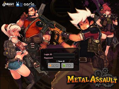 Metal Assault - Login