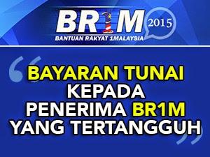 Thumbnail image for Penerima BR1M 2015 Yang Tertangguh Akan Dibayar Secara Tunai