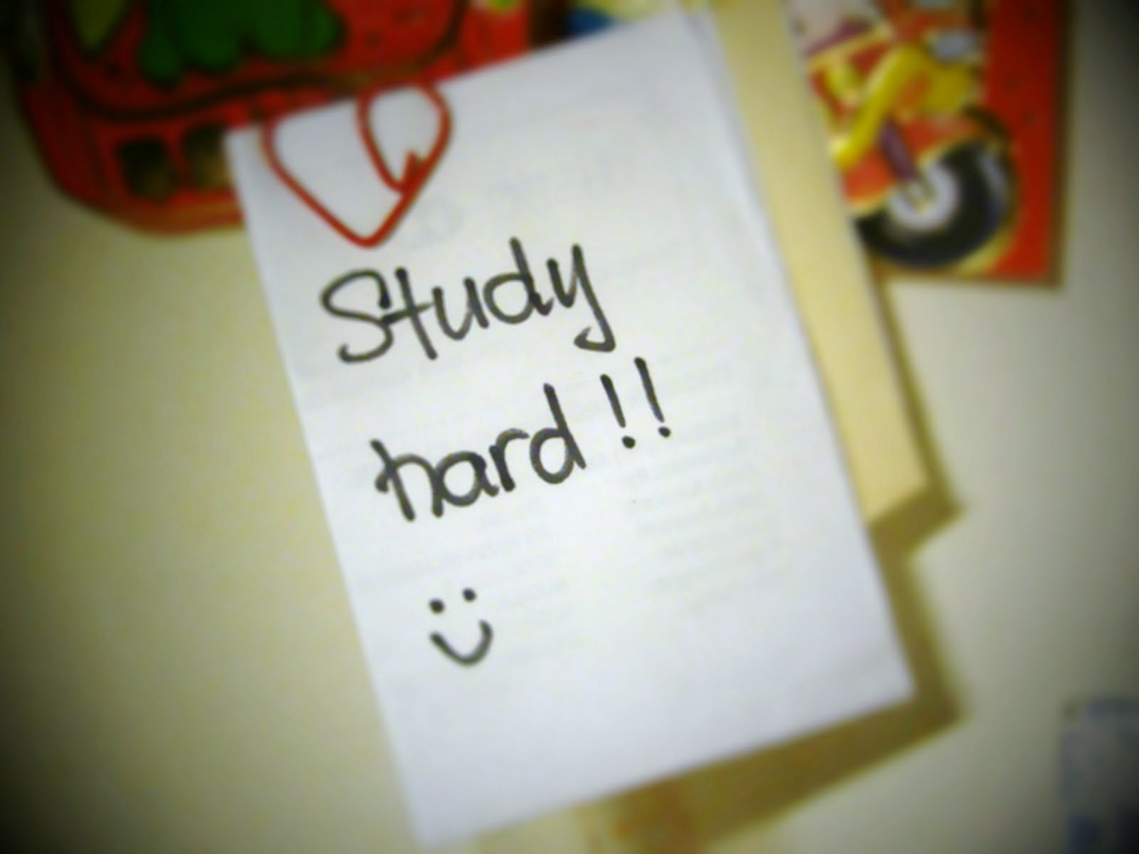 good luck on your studies