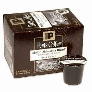 Free sample of Peet's Coffee K-Cup