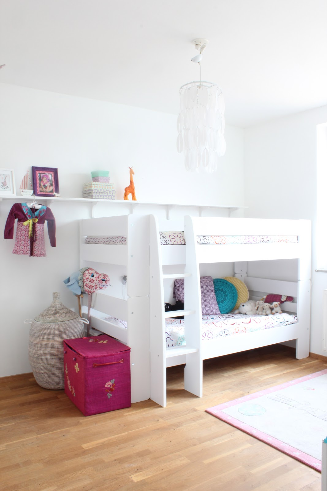 My scandinavian home my home little girls room Bunk beds for girls
