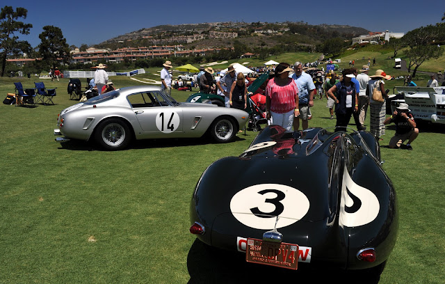 Just a car guy   beautiful Jaguars from the Dana Point concours