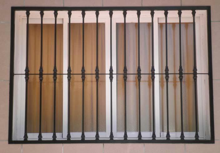 fabricación de rejas para ventanas en Vélez Málaga