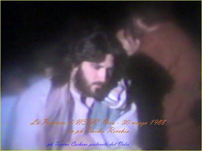 """- come eravamo... """"la passione per le vie del c. s. di Oria del 30.3.88"""" ...il video"""