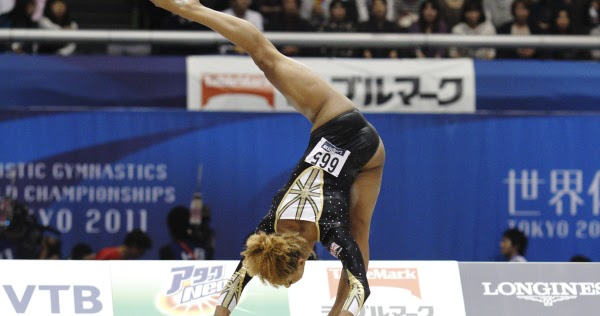 I Flip For Gymnastics Danusia Francis From British Elite